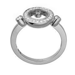 823957-1510 |Buy Online Chopard Happy Diamonds White Gold Diamond Ring