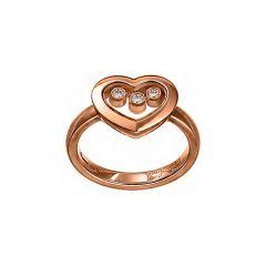 Chopard Happy Diamonds Rose Gold Diamond Ring 82A611-5111