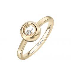 829010-0110 | Chopard Happy Diamonds Yellow Gold Diamond Ring Size 53 | Buy Now
