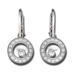 839769-1003   Buy Chopard Happy Circles White Gold Diamond Earrings