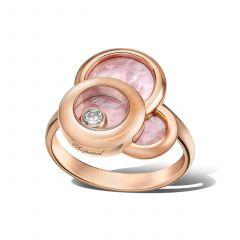 829769-5067   Buy Online Chopard Happy Dreams Rose Gold Diamond Ring