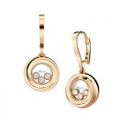 839216-5001 | Buy Chopard Happy Emotions Rose Gold Diamond Earrings