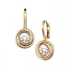 839216-5002 | Buy Chopard Happy Emotions Rose Gold Diamond Earrings