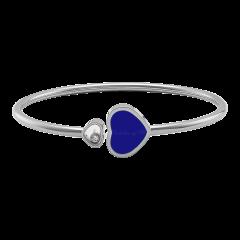857482-1503   Buy Chopard Happy Hearts White Gold Lapis Lazuli Bangle