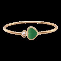 857482-5102 | Buy Chopard Happy Hearts Rose Gold Agate Diamond Bangle
