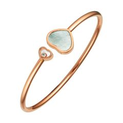 857482-5304 | Chopard Happy Hearts Rose Gold Mother-of-Pearl Bangle