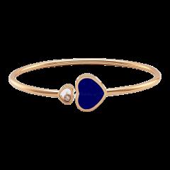 857482-5503 | Chopard Happy Hearts Rose Gold Lapis Lazuli Bangle