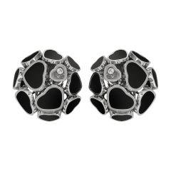 847482-1201 | Buy Chopard Happy Hearts White Gold Onyx Earrings