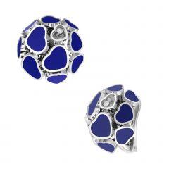 847482-1501 | Buy Chopard Happy Hearts White Gold Blue Stone Earrings
