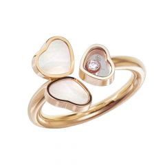 82A083-5310 | Buy Chopard Happy Hearts Rose Gold Pearl Diamond Ring