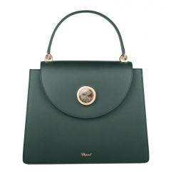 95000-0809   Chopard Happy Lady Green Smooth Calfskin Leather Bag