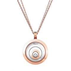 795431-9001   Buy Chopard Happy Spirit Rose and White Gold Pendant
