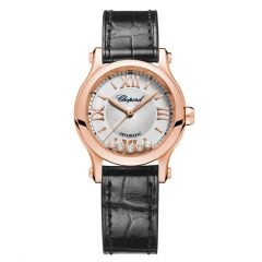 274893-5011|Chopard Happy Sport Rose Gold Automatic Diamond 30mm Watch