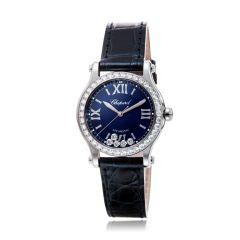 278573-3008 | Chopard Happy Sport Steel Automatic Diamond 30mm Watch