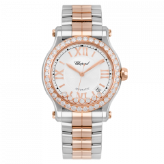 Chopard Happy Sport 36 mm Automatic 278559-6004. Watches of Mayfair