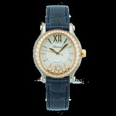 278602-6003 | Chopard Happy Sport Oval 31 x 29 mm watch. Buy Online