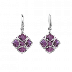 839563-1002|Buy Chopard IMPERIALE Cocktail White Gold Amethyst Earrings