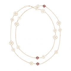 Chopard IMPERIALE Rose Gold Amethyst Necklace 819392-5002