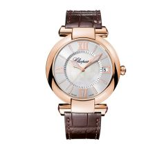 384241-5001 | Chopard IMPERIALE 40mm Rose Gold Mother-of-Pearl Watch