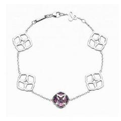 859392-1001  Buy Online Chopard IMPERIALE White Gold Amethyst Bracelet