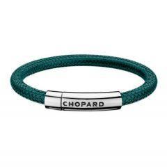 95016-0208 | Chopard Mille Miglia Green Rubber Steel Sport Bracelet