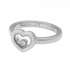 82A054-1110 | Buy Online Chopard Miss Happy White Gold Diamond Ring