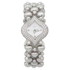 106813-1001 | Chopard Pushkin Diamond 26.7 x 30.3 mm watch. Buy Now