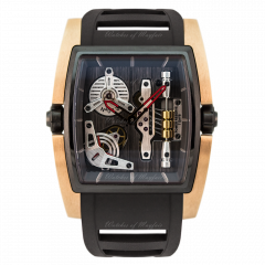 529.002.C | Cyrus Kambys Gold & DLC watch. Watches of Mayfair