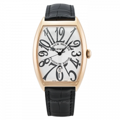 6850 B SC DT V AL.RG   Franck Muller Cintree Curvex 34 x 47 mm watch.