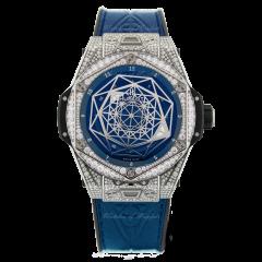 415.NX.7179.VR.1704.MXM18   Hublot Big Bang Sang Bleu Unico Titanium