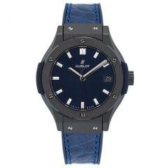 Hublot Classic Fusion Ceramic Blue 581.CM.7170.LR