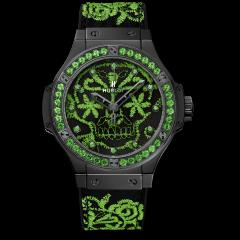 Hublot Sugar Skull Fluo Malachite Green 343.CG.6590.NR.1222   Buy Now