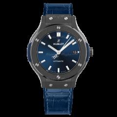Hublot Classic Fusion Ceramic Blue 565.CM.7170.LR | Watches of Mayfair