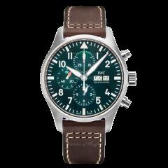 IW377726 | IWC Pilot's Watch Chronograph Edition Racing Green 43mm watch. Buy Online