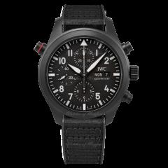 IW371815   IWC Pilot's Watch Double Chrono Top Gun Ceratanium 44mm