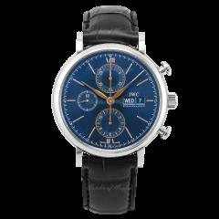 IW391036   IWC Portofino Chronograph 42 mm watch. Buy Online