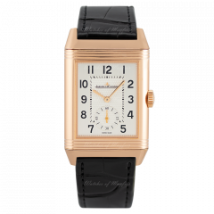 3842520   JLC Reverso Classic Large Duo Small Seconds. Buy online-Front dial