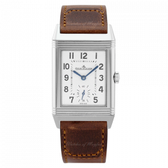 2438522 | Jaeger-LeCoultre Reverso Classic Medium Small Seconds watch - Front dial