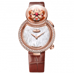 J032003270 | Jaquet Droz Lady 8 Flower Red Gold 35 mm watch | Buy Now