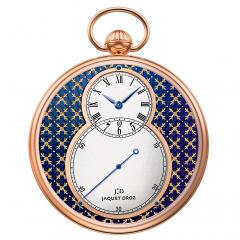 J080033044   Jaquet Droz Pocket Watch Paillonnee Red Gold 50 mm watch
