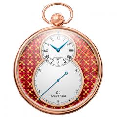 J080033046 | Jaquet Droz Pocket Watch Paillonnee Red Gold 50 mm watch