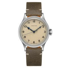 L2.819.4.93.2 | Longines Heritage Military 38.5mm watch. Buy Online