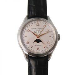 10055 | Baume & Mercier Clifton Stainless Steel 43mm watch. Buy Online