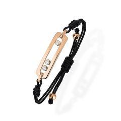 05311 | Buy Online Messika Move Cord Pink Gold Diamond Bracelet