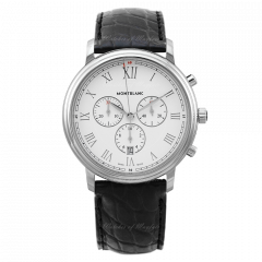114339 | Montblanc Tradition Chronograph 42 mm watch | Buy Online