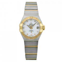 123.20.27.20.55.001   Omega Constellation Co‑Axial 27 mm watch   Buy Now