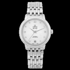424.10.33.20.55.001   Omega De Ville Prestige Co‑Axial 32.7 mm watch. Buy Online