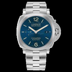 PAM01028 | Panerai Luminor Marina 42mm watch. Buy Online