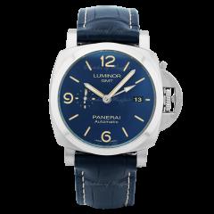 PAM01033 | Panerai Luminor GMT 44 mm watch. Buy Now. Watches of Mayfair