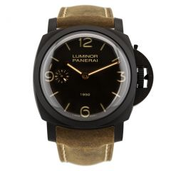 PAM00375 | Panerai Luminor 1950 3 Days Composite 47mm watch. Buy Now